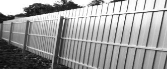 Облаштовуємо паркан з профнастилу своїми руками (частина 1)