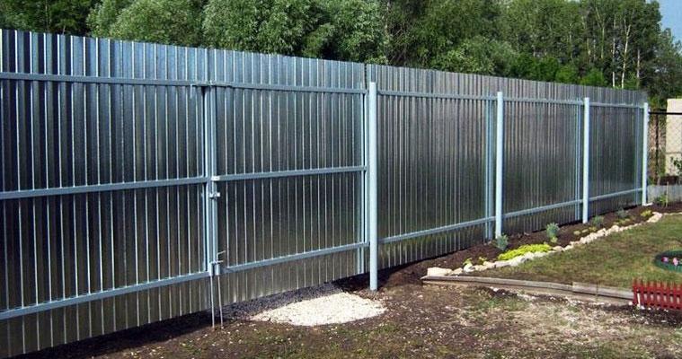 Качественный забор из профнастила